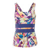 Women`s Excel Tennis Tank Prism Print by ELEVEN