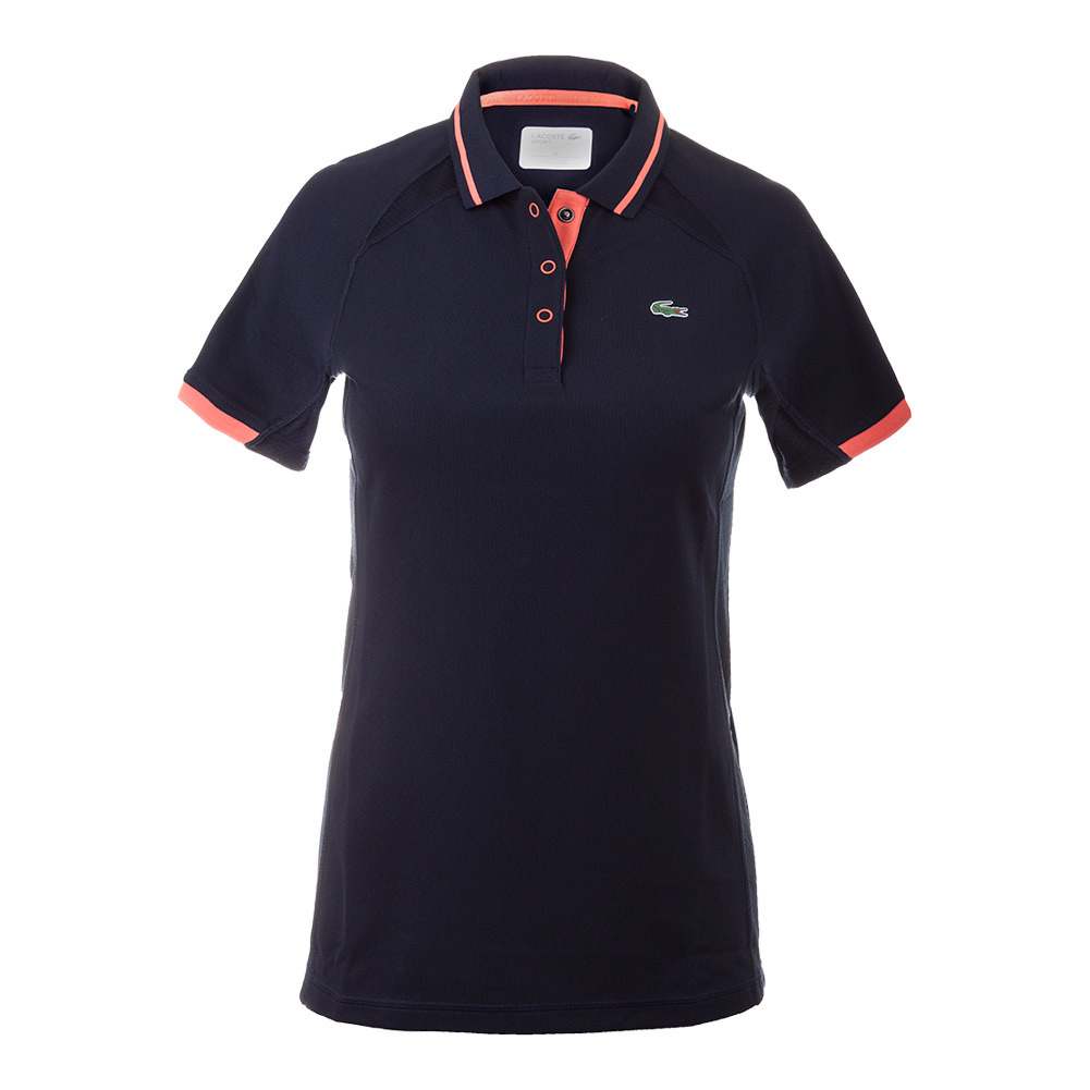 Women's Mesh Panel Technical Tennis Polo
