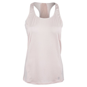 Women`s Match Tennis Tank Mauve Chalk