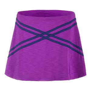 Women`s Inspire 14 Inch Tennis Skort Fushia