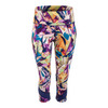 ELEVEN Women`s Voltage Tennis Capri Prism Print