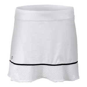 Women`s Elite Wicking Skort Pure White