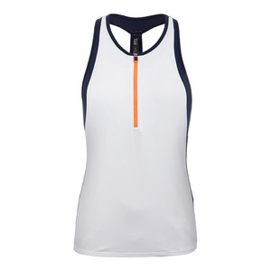 Women`s Elite Wicking Knit Tank Pure White