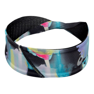 Twisted Tennis Headband Inblot Floral Print