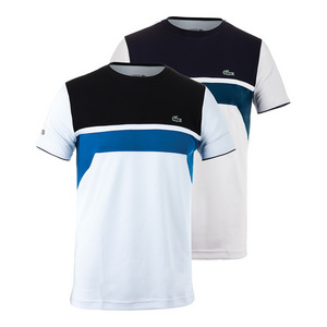 Men`s T1 Ultradry Chest Stripe Tennis Tee
