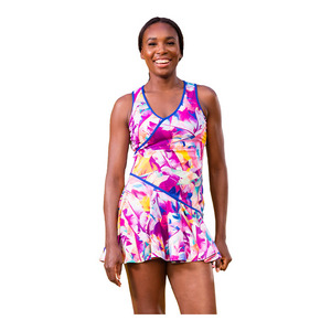 Women`s Chela Tennis Dress Prism Print