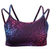 LIJA Women`s Define Double Strape Tennis Bra Deep Print