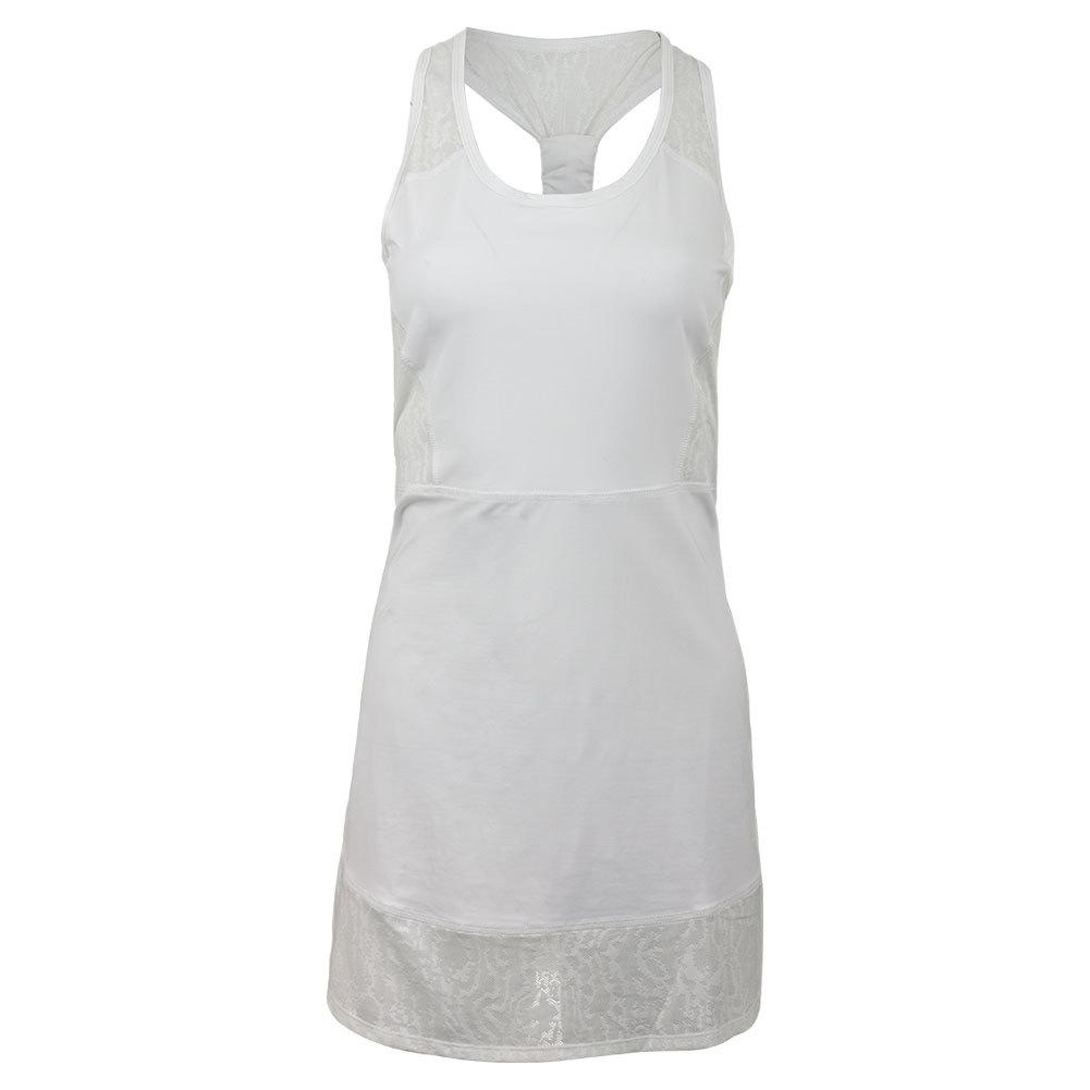 Women's Centre Court Tennis Dress White