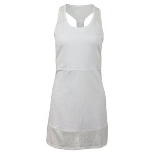 LIJA WOMENS CENTRE COURT TENNIS DRESS WHITE