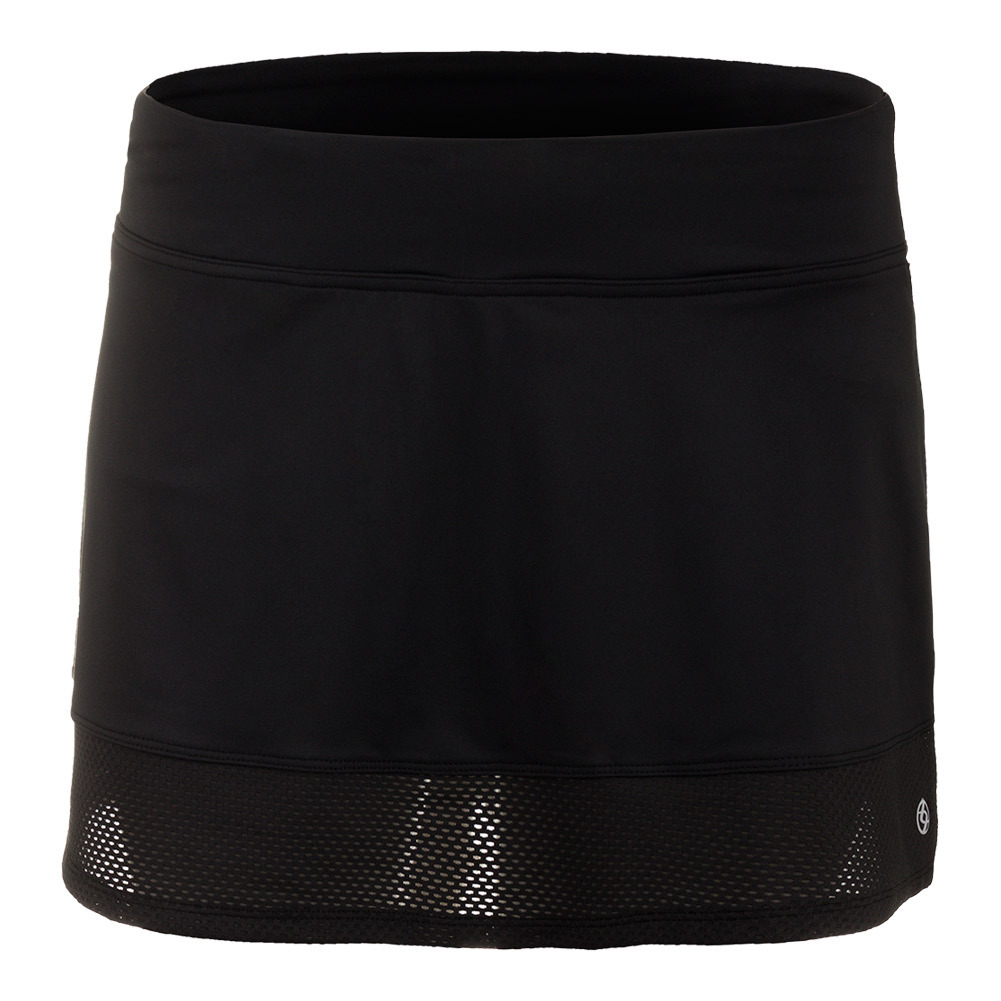 Women's Borderline Tennis Skort Black