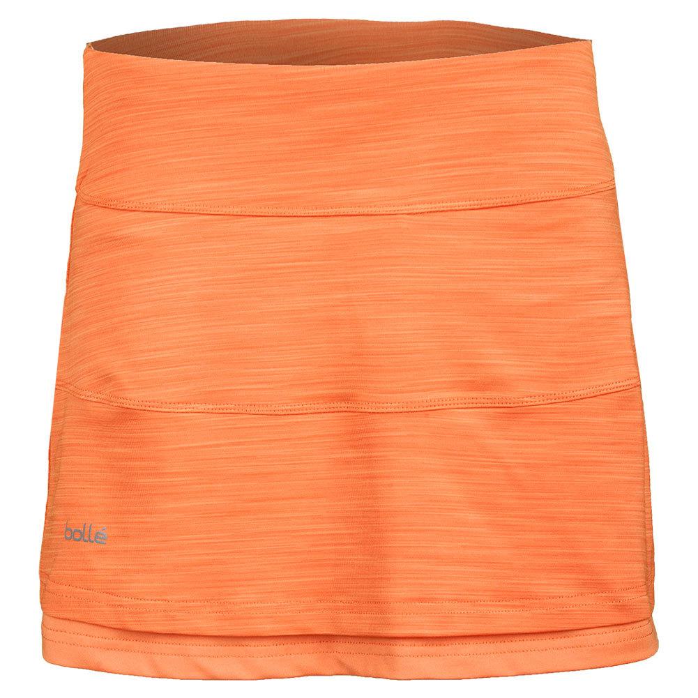 Women's Gabriella 14 Inch Tennis Skort Orange