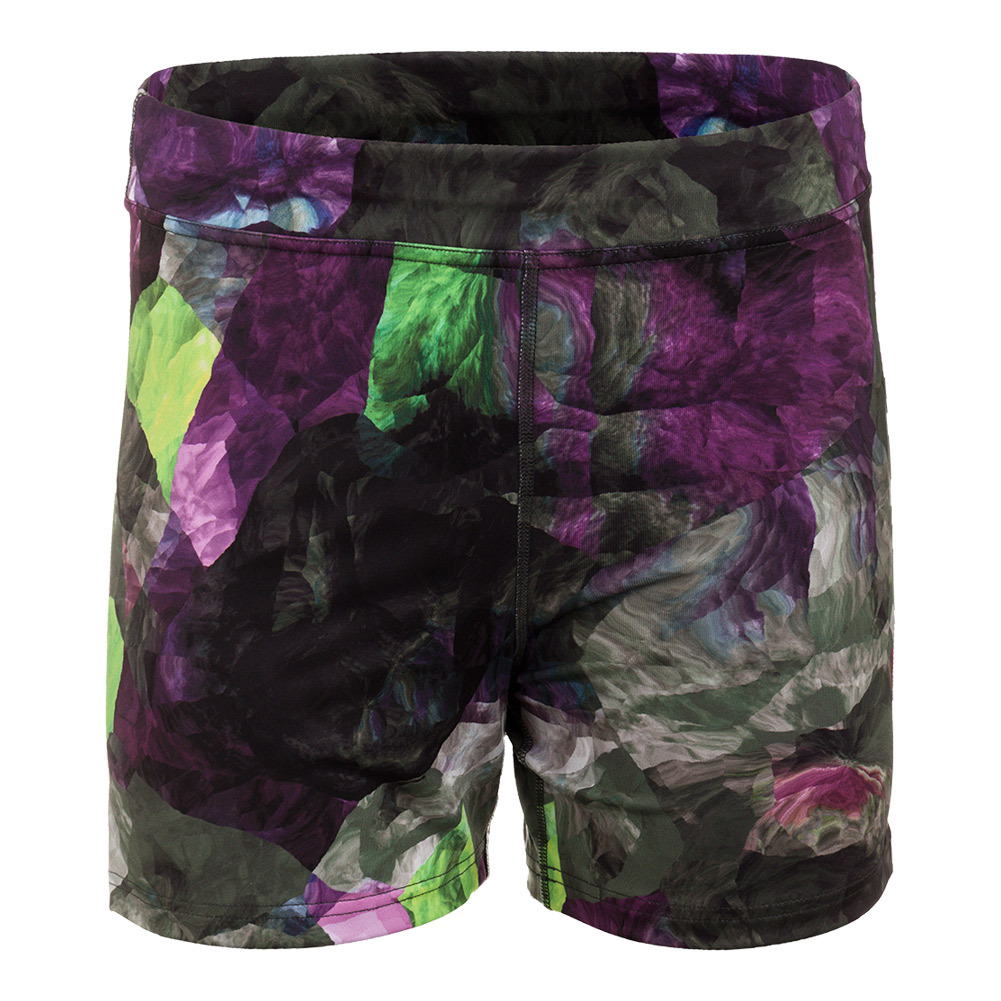 Women's Climate Tennis Short Foliage Print