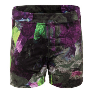 Women`s Climate Tennis Short Foliage Print
