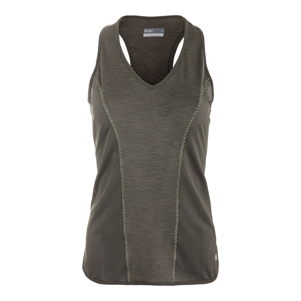 Women's Linear Tennis Tank Foliage