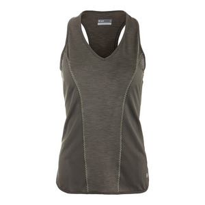 Women`s Linear Tennis Tank Foliage