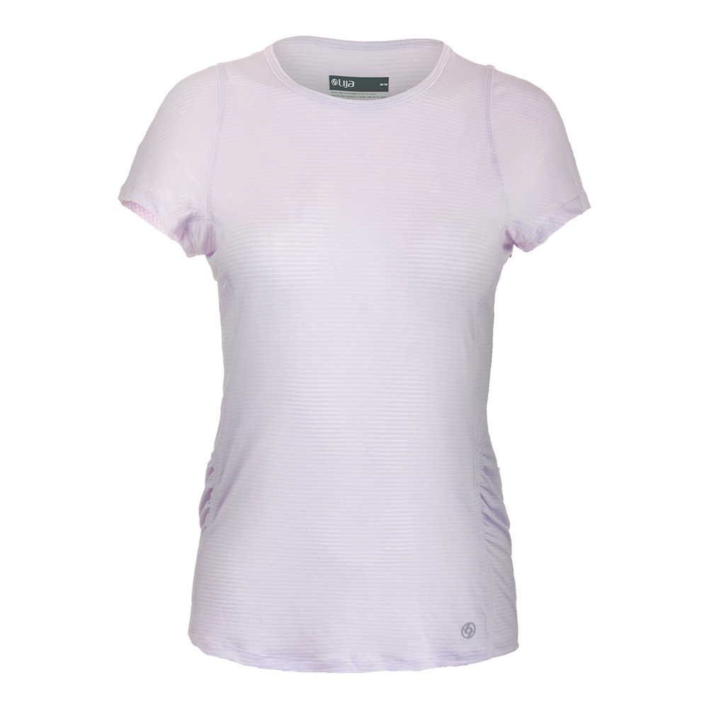Women's Fluid Tennis Tee Lily