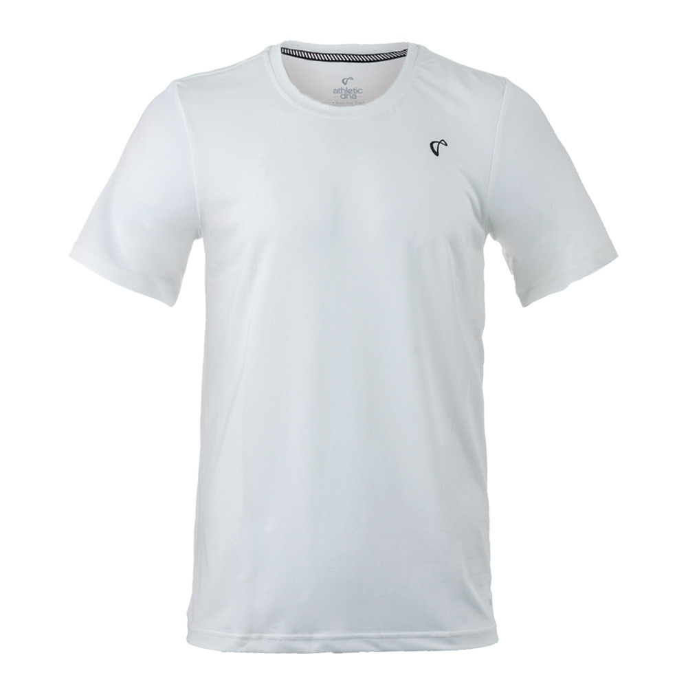 Men's Match Tennis Crew White