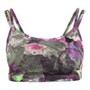 LIJA Women`s Define Double Strap Tennis Bra Foliage Print