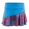 LIJA Women`s Multi Panel Tennis Skort Corsica and Print