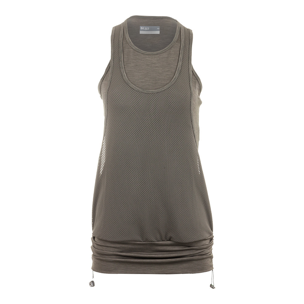 Women's Run Track Tank Foliage