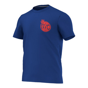 Men`s Adi NYC US Open Tennis Tee Collegiate Royal