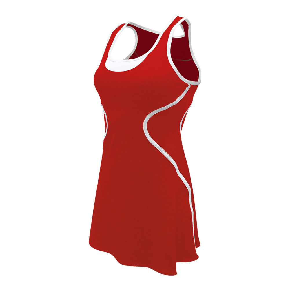 Women's Sophia Tennis Dress Red