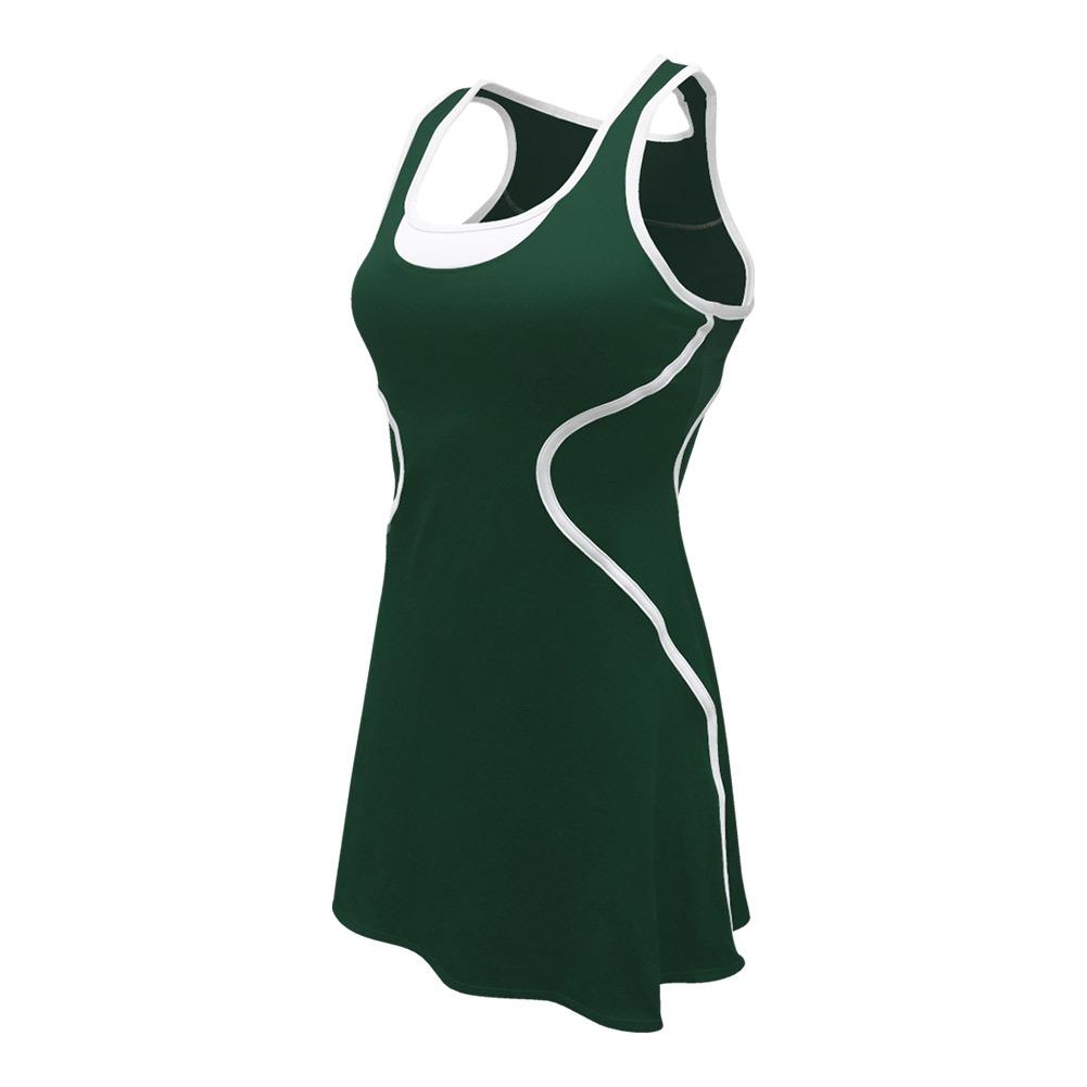 Women's Sophia Tennis Dress Pine Green