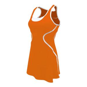 Women`s Sophia Tennis Dress Orange