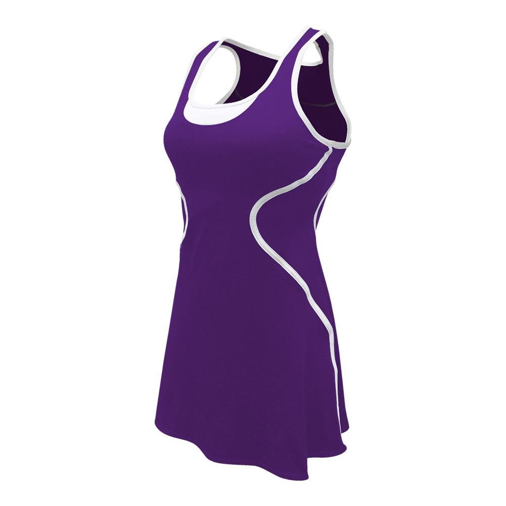 Women's Sophia Tennis Dress Purple
