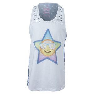 Girls` Starry-Eyed Tennis Tank Print