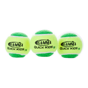 Quick Kids 78 Tennis Balls 3 Pack