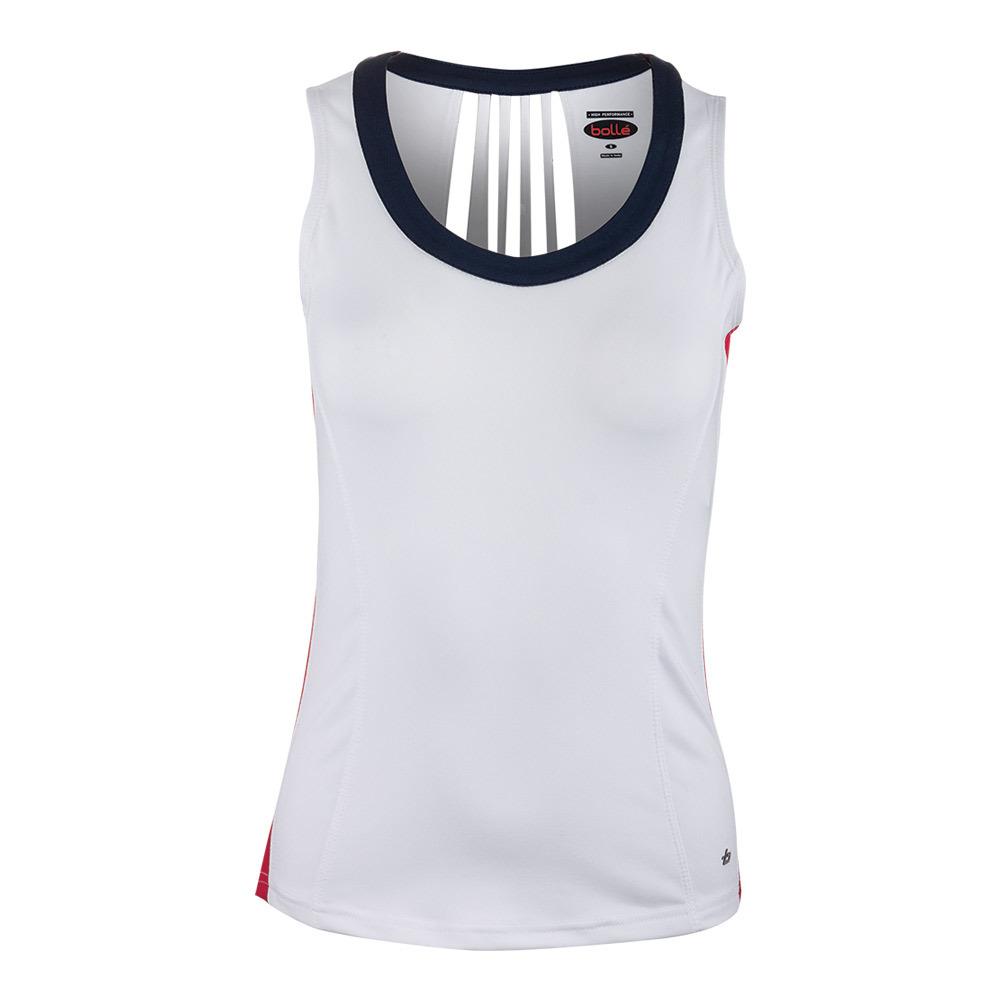 Women's Carmella Tennis Tank White
