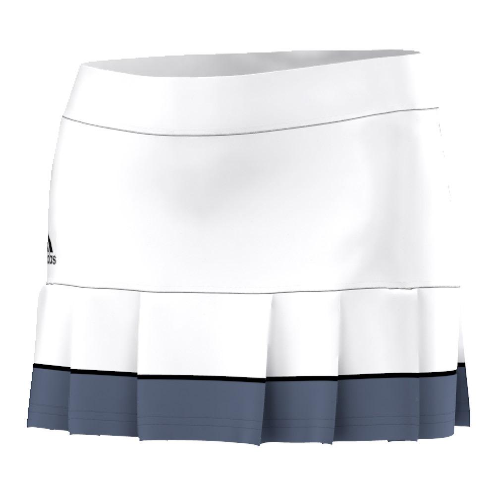 Women's All Premium 12 Inch Tennis Skort White