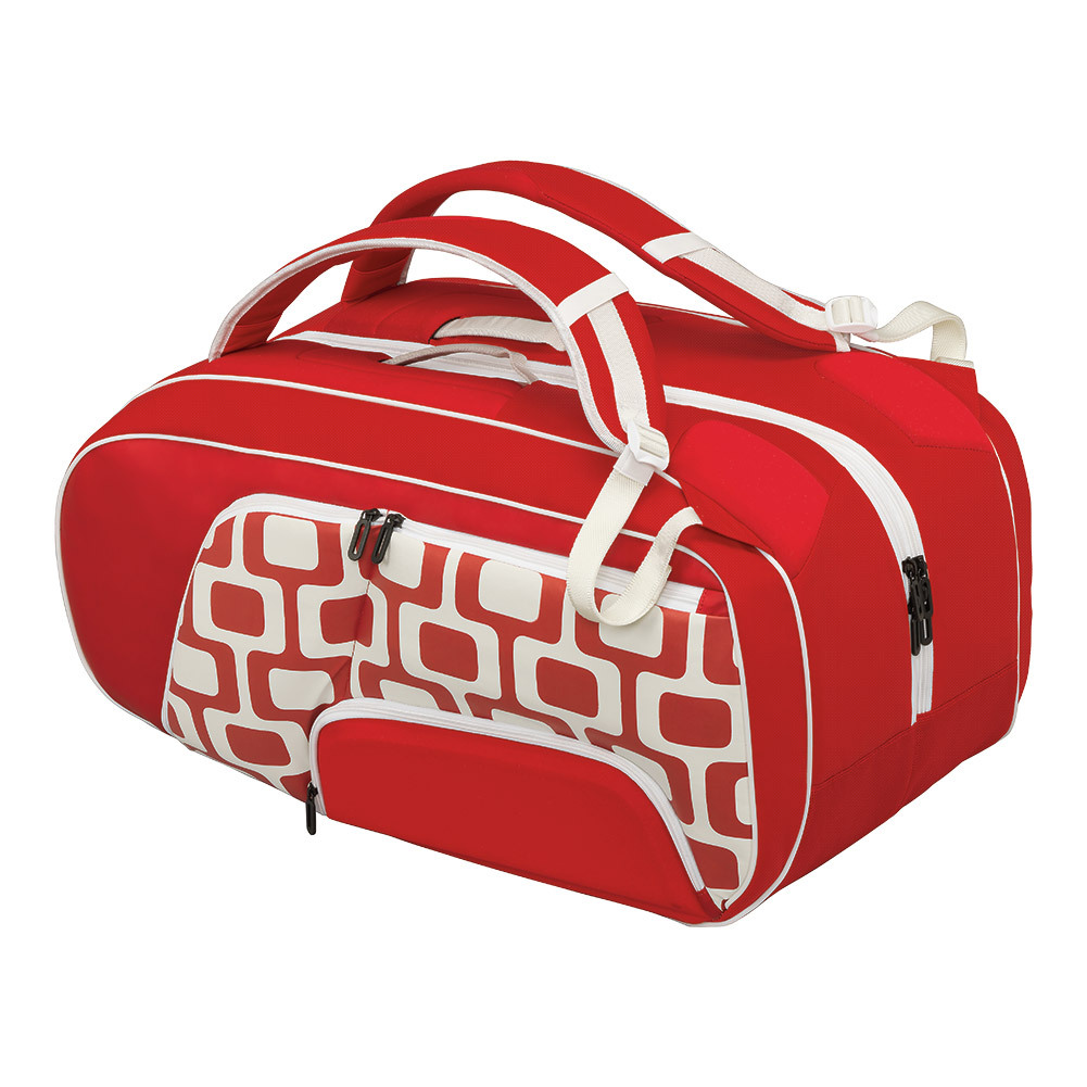 Olympic 2016 12 Pack Tennis Bag Red And White