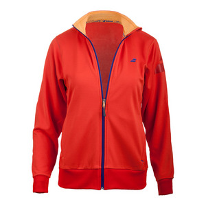 Girls` Performance Tennis Jacket Red