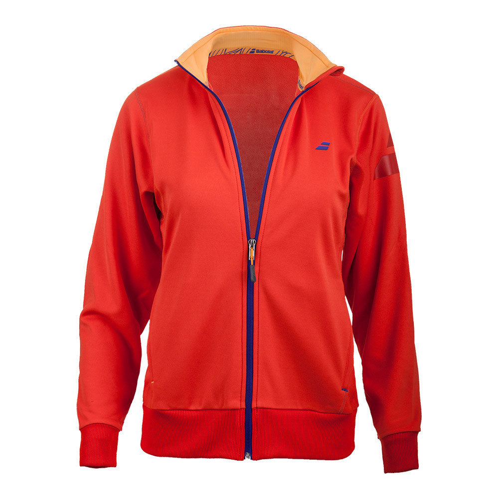 Women's Performance Tennis Jacket Red