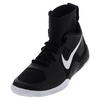NIKE Women`s Flare Tennis Shoes Black and White