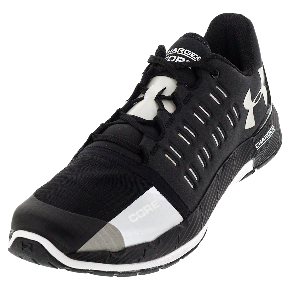 Men's Charged Core Shoes Black And White