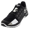 Men`s Charged Core Shoes Black and White by UNDER ARMOUR