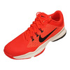 NIKE Men`s Air Zoom Ultra Tennis Shoes Bright Crimson and White