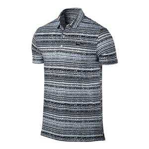 Men`s Sphere Striped Tennis Polo