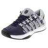 K-SWISS Men`s Hypercourt Tennis Shoes Navy and Silver