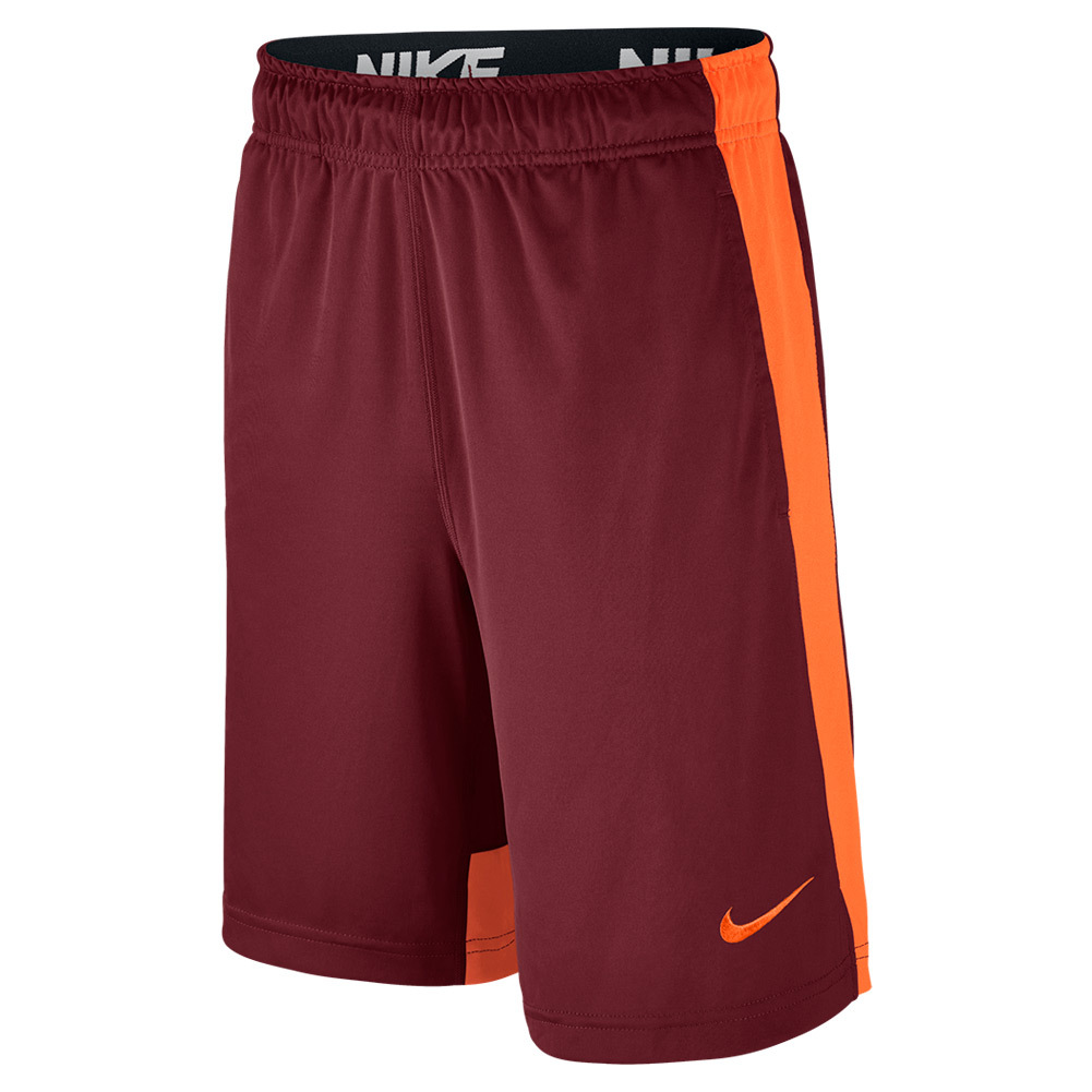 Boys ` Dry Training Short Team Red