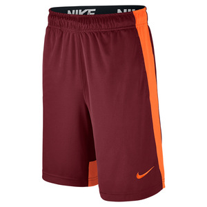 Boys` Dry Training Short Team Red