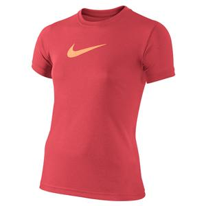 Girls` Dry Training Tee