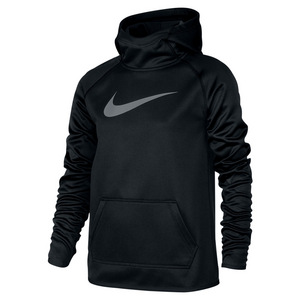 Girls` Therma Training Hoodie Black