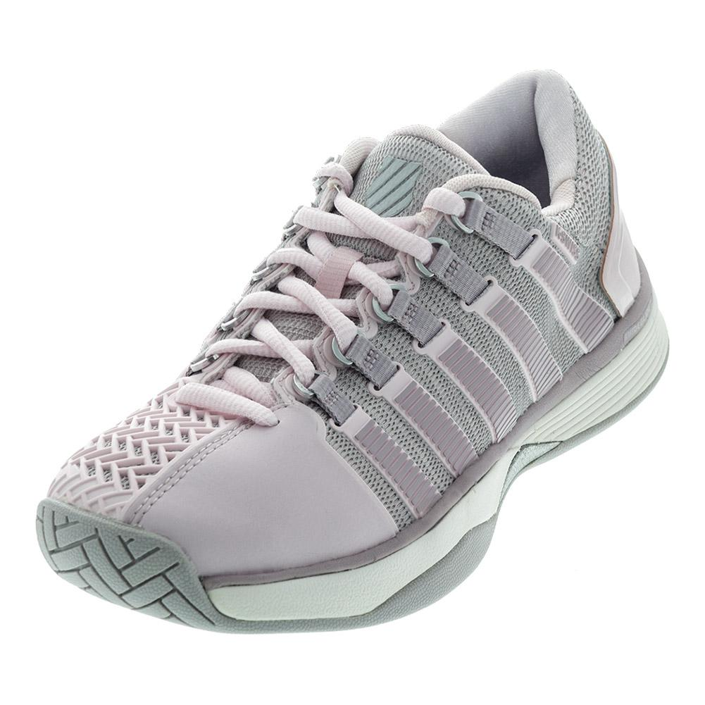 Women's Hypercourt Tennis Shoes Mauve Chalk And Gray Cloud
