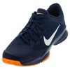 NIKE Men`s Air Zoom Ultra Tennis Shoes Coastal Blue and Bright Citrus