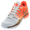 NIKE Women`s Zoom Vapor 9.5 Tour Tennis Shoes Total Crimson and White