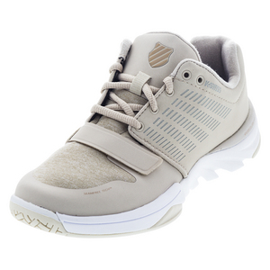 Women`s X Court Athleisure Tennis Shoes Doeskin and Warm Taupe
